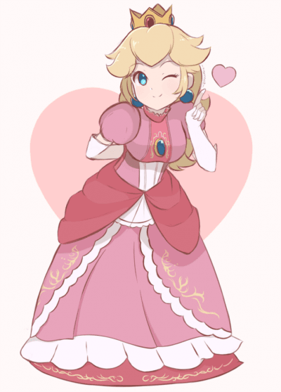 Princess Peach Toadstool's display picture