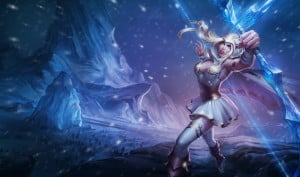 Ashe   –  the Frost Archer 's display picture
