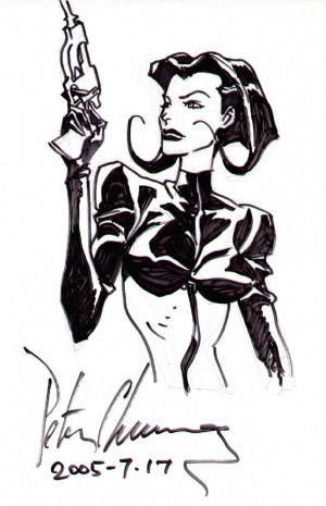 Æon Flux's display picture
