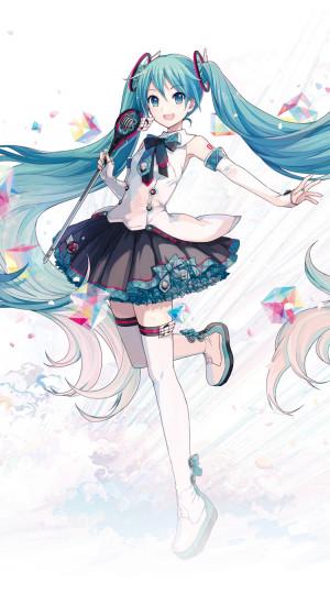 Miku Hatsune's display picture