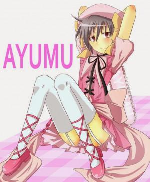 Ayumu's display picture